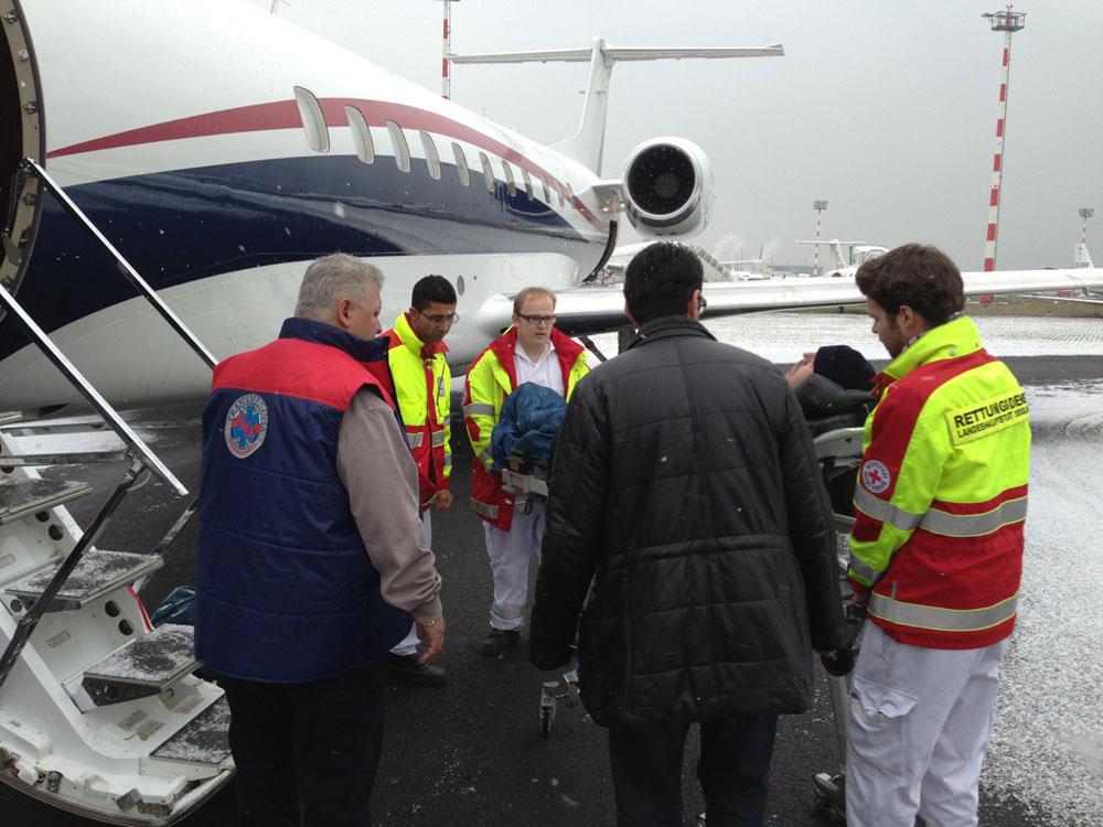 Медицинские авиаперевозки в Израиле