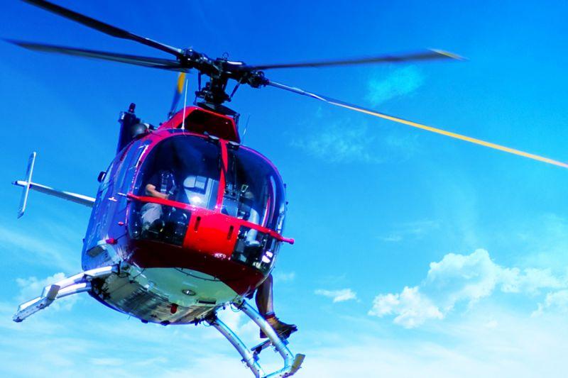Израиль на вертолете